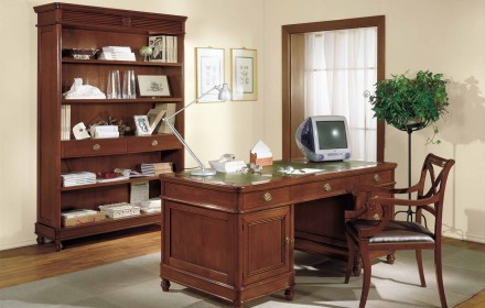 Bookcase 808/G, writing desk 807/G