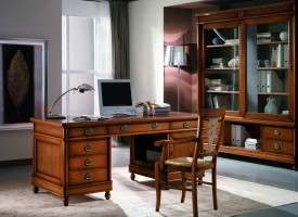 Writing desk 807/G, bookcase 805/G