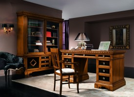 Writing desk 5019/G, bookcase 5018/G